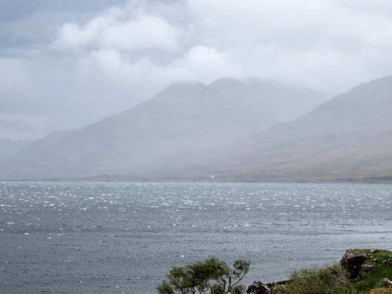 Salen, UK: View from Loch na Keal road