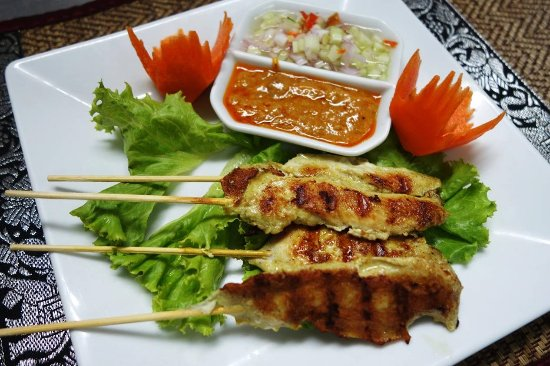 Mando Restaurant & Steakhouse: Chicken Satay
