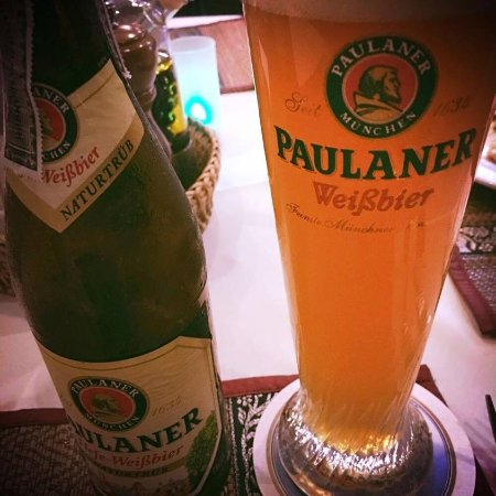 Mando Restaurant & Steakhouse: Paulaner Beer