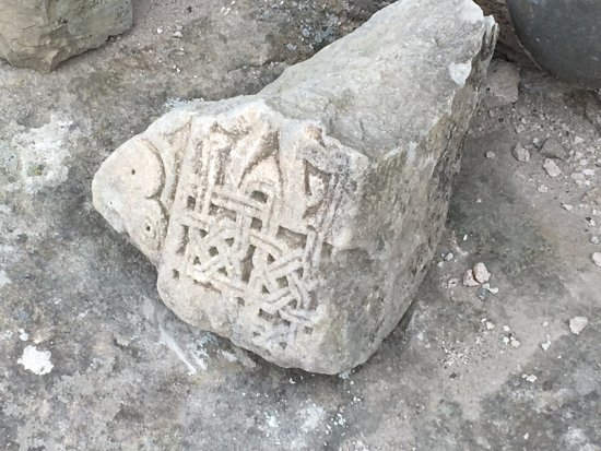 Stone carving picture of uplistsiche cave town gori