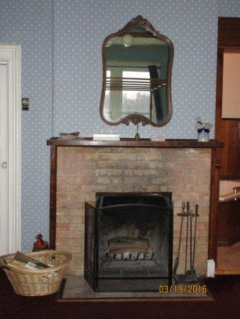 ديدجيريدو دريمتايم إن: Fireplace in room