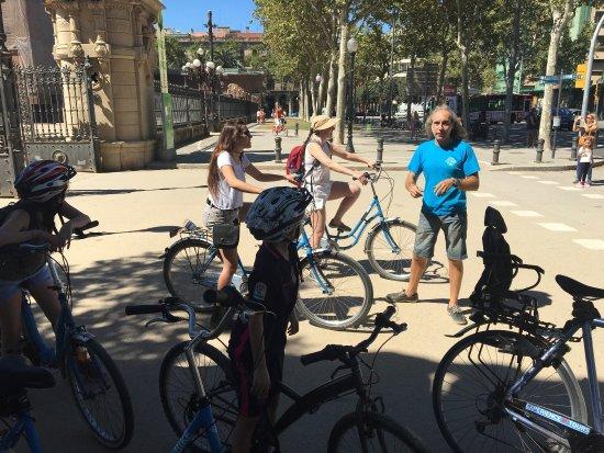Bornbike Barcelona: Muy bueno todo el recorrido y muy amable todo el personal. Muy recomendado