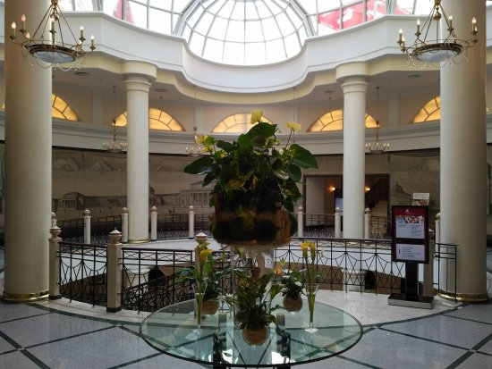 Moscow Marriott Grand Hotel: The main hall