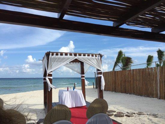 Grand Riviera Princess All Suites Resort Spa Sunset Wedding Gazebo