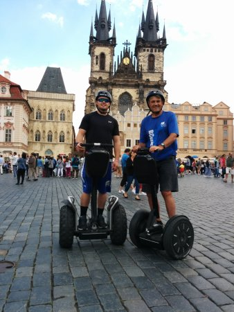 Segway In Prague