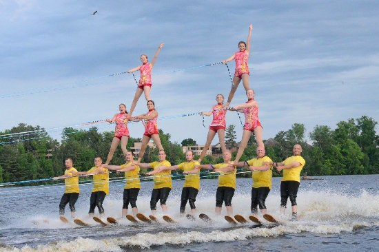 Central Wisconsin Water Ski Show Team