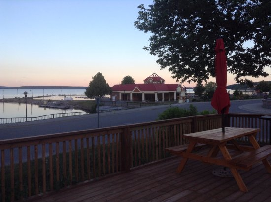 Temiskaming Shores, Canadá: View from the deck area