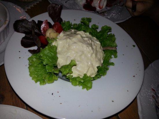 Ventspils, Látvia: Блюдо