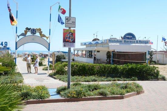 Baraca e renga accogliente bar ristorante sulla spiaggia di rimini foto di baraca renga - Bagno 44 rimini ...