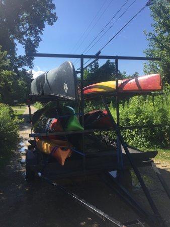 Arlington, Вермонт: On the river