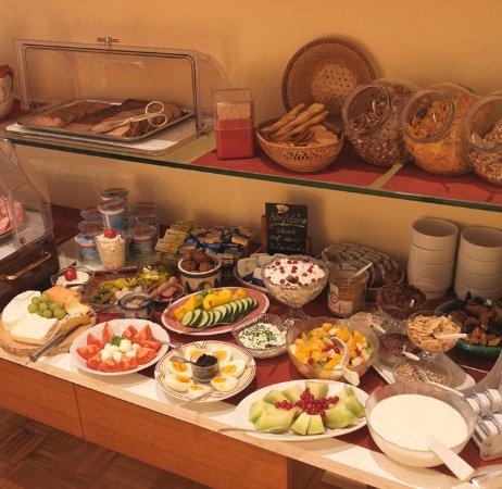Hauser Hotel: Frühstücksbuffet