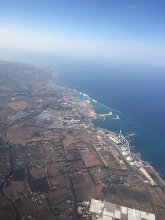 Antonio Cagnoli and Son Day Tours: The Port of Civitavecchia from the Air