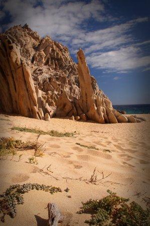 Playa del Amor (Lover's Beach) : Divorce Beach side of Lovers Beach