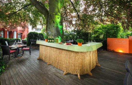 Garten Bar Picture Of Hotel Du Parc Baden Tripadvisor