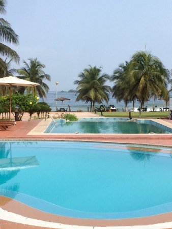 Busua Beach Resort: Visiting again for a week, still a lovely and relaxing place. Happy to be back again.