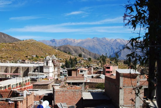 Pachamama: View from the rooftop bar/ lounge