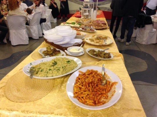 Signa, Italia: buffet 2