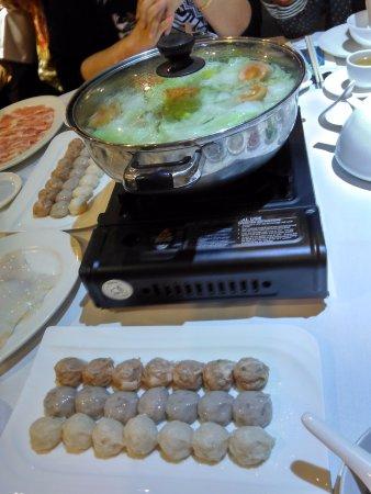 North Sydney, Australie : boiling hot soup