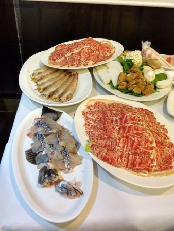 North Sydney, ออสเตรเลีย: prawns fish beef and vegies