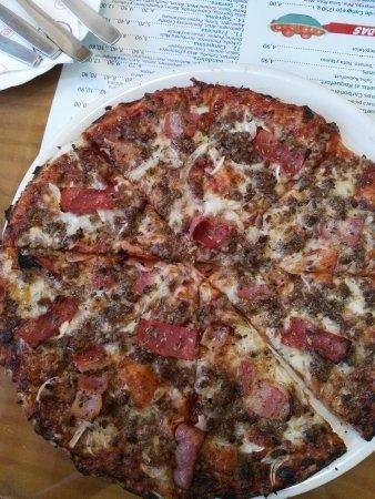 Alfacar, Ισπανία: Pizza speciaal