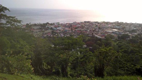 Roseau, Dominica: Morne Bruce
