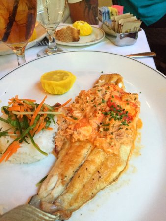 Truluck's: Dynamite Striped Bass  and Grouper Ponchartrain