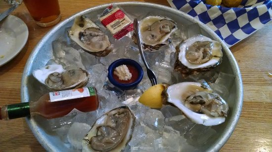 Potomac, Maryland: Oysters, fresh and plump
