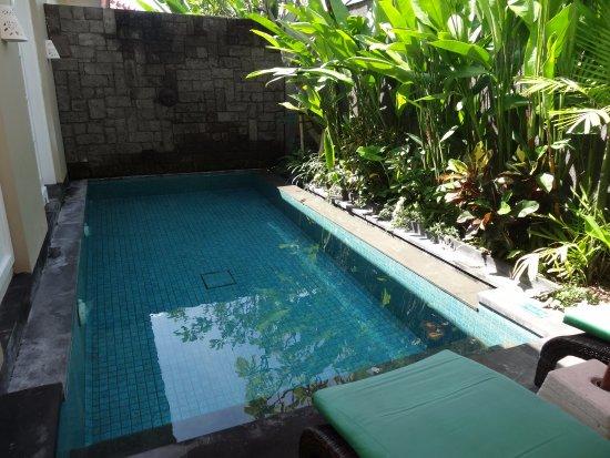 Private Pool Picture Of Maison At C Boutique Hotel Spa Seminyak Tripadvisor
