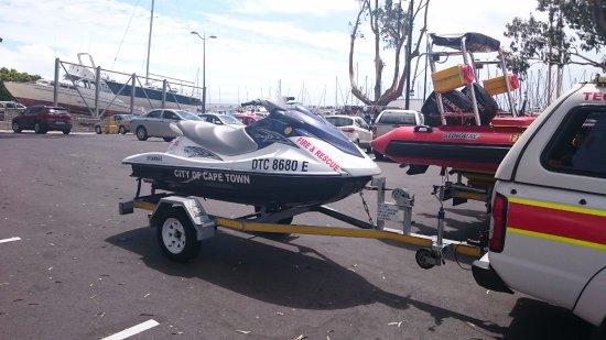 Gordon's Bay, Sudáfrica: Loads of Activity