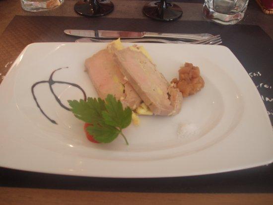 Missillac, France: le foie gras et ses toasts