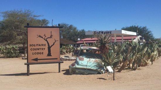 Solitaire, Namibia: Weg zur Bäckerei