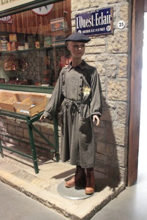 Saint-Marcel, France : Identification of the Jewish inhabitants by dress and 'Star badge'.