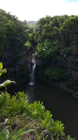 Kula, HI: Waterfall