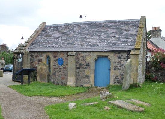 Coldingham, UK: The old mortuary entrance