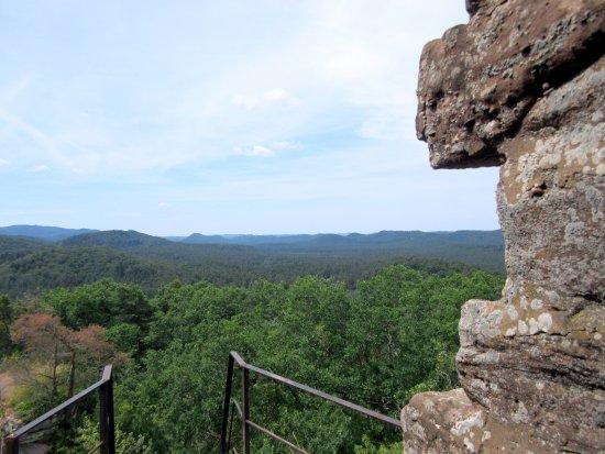 Obersteinbach, فرنسا: Blick in die Nordvogesen