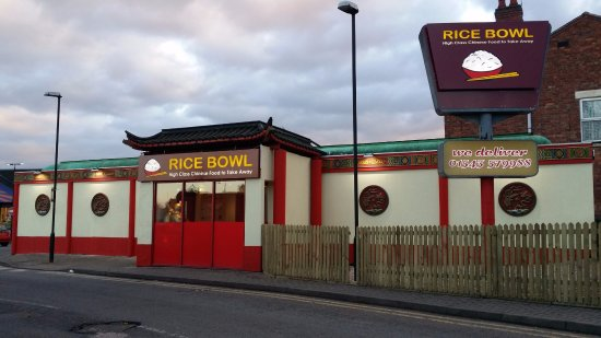 Cannock, UK: Very popular Chinese takeaway based in the town centre