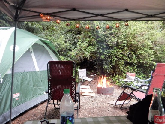 Cloverdale, OR: Campsite