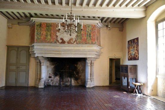 Chateauneuf, Prancis: Grande sale.