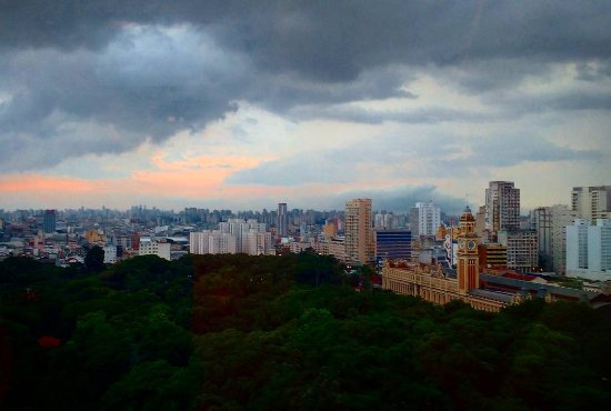 Luz Plaza Sao Paulo: Vista do apto