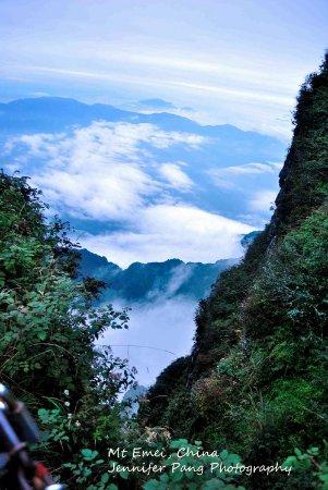Emeishan, China: Mount Emei