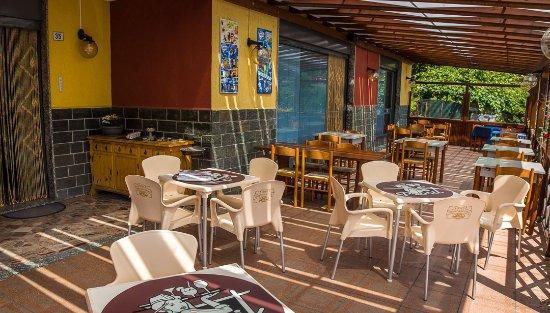 Chiuro, Italien: veranda