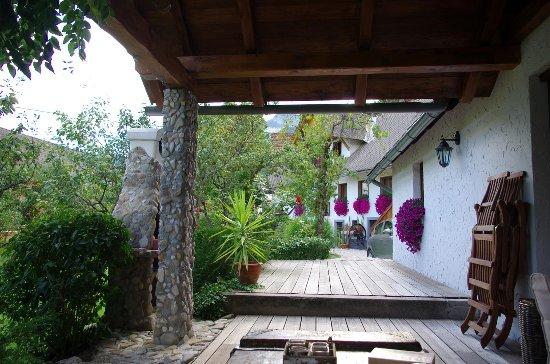 Cottage and Chalet Pr Klemuc: Terras