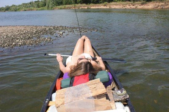 Boscobel, WI: Sometimes you need a paddle break