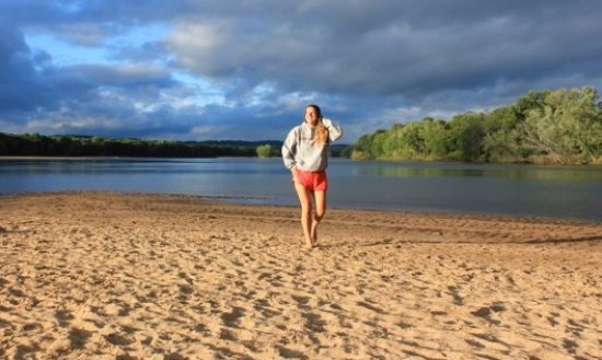 Boscobel, WI: Camp on a gorgeous Sand bar every night