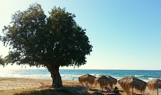 Stavromenos, اليونان: The relaxing view