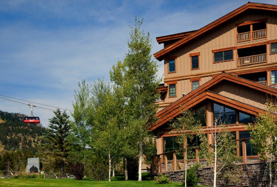 Teton Mountain Lodge & Spa- A Noble House Resort: Conveniently located at the base of Jackson Hole's tram.