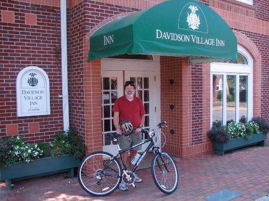Davidson, นอร์ทแคโรไลนา: Guest ready to head out for a ride
