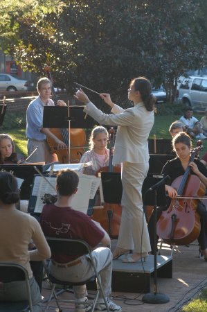 Davidson, นอร์ทแคโรไลนา: Sunday Concert on the Green