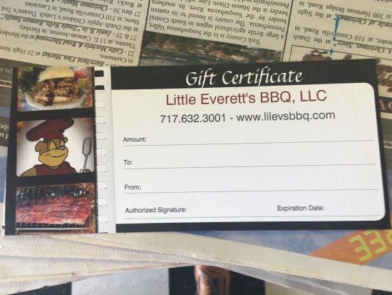 Hanover, PA: Little Everett's BBQ