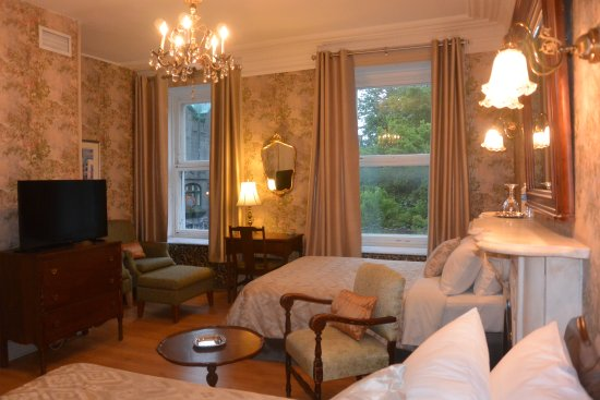 Fantastic Location, Tired Hotel   Review Of Manoir Sainte Genevieve, Quebec  City, Canada   TripAdvisor